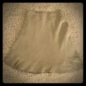 East 5th tan skirt